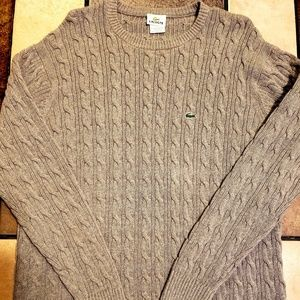 Mens size large Lacoste sweater